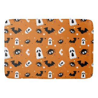 Halloween cute pattern bath mat