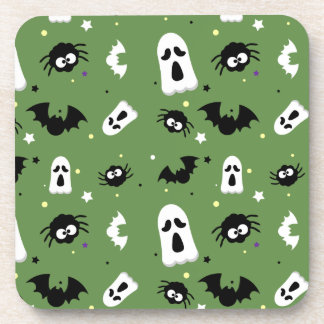 Halloween cute pattern coaster