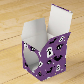 Halloween cute pattern favor box