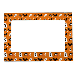 Halloween cute pattern magnetic picture frame