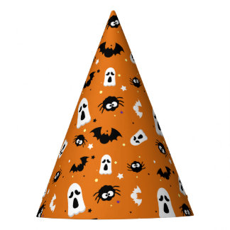 Halloween cute pattern party hat