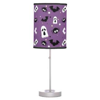 Halloween cute pattern table lamp