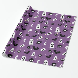 Halloween cute pattern wrapping paper