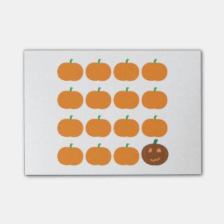 Halloween Cute Pumpkin Patch Post-it® Notes