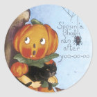 Halloween Cute Pumpkin Stickers - Trick or Treat's
