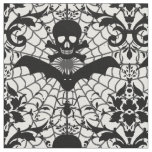 Halloween Damask Fabric