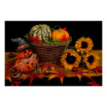 Halloween Decoration Posters