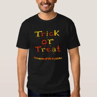 Halloween - des bonbons ou un sort tshirts