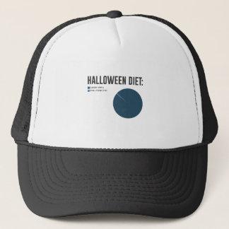 Halloween Diet Sweets Treats and Candy Design Trucker Hat