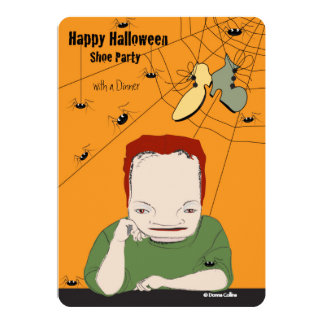 Halloween Dinner Party Invitation