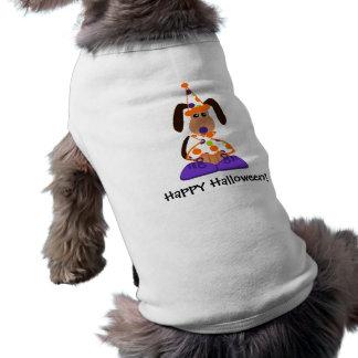 Halloween Dog Clown T-Shirt