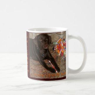 Halloween Dog with Sweet Tooth Coffee Mug