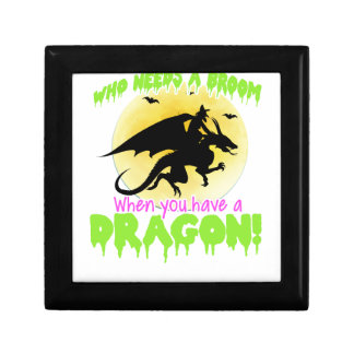 Halloween dragon tee gift box