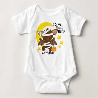 Halloween Drive Mummy Batty Baby Bodysuit