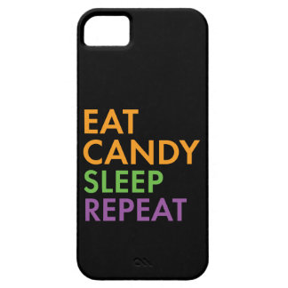 Halloween - Eat Candy, Sleep, Repeat - Novelty iPhone 5 Case