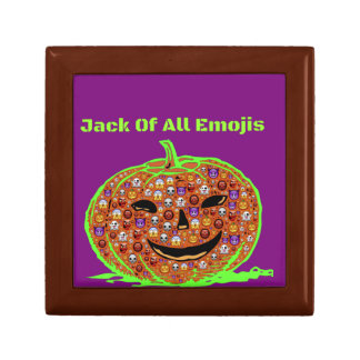 Halloween Emoji Pumpkin Face Gift Box