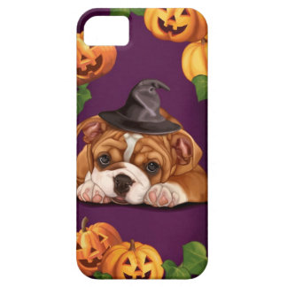 Halloween English Bulldog iPhone 5 Cases