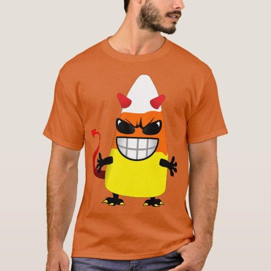 Halloween Evil Candy Corn T-Shirt