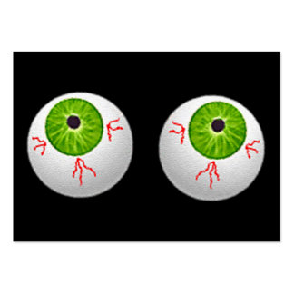 Halloween Eyeballs Pack Of Chubby Business Cards