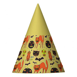 Halloween Faceoff Party Hats