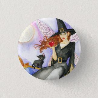 Halloween Fairy 1 Inch Round Button