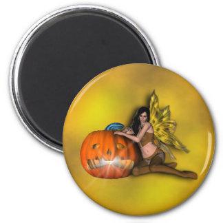 Halloween Fairy Fantasy 2 Inch Round Magnet