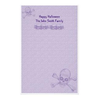 Halloween Family Stationery