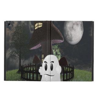 Halloween fanged ghost Ipad case