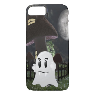 Halloween fanged ghost Iphone 8/7 case