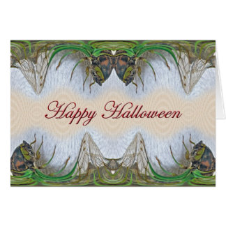 Halloween Fantasmagorical Cicada Items Card