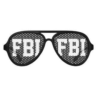 Halloween FBI costume party shades | Black glasses