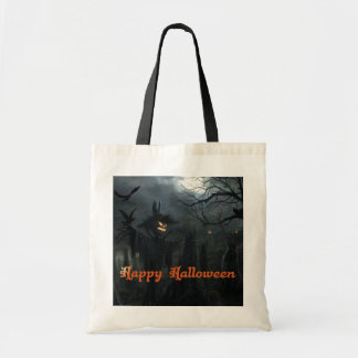 Halloween Field of Death Tote Bags