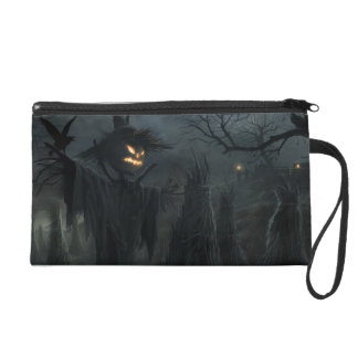 Halloween Field of Death Wristlet Clutches