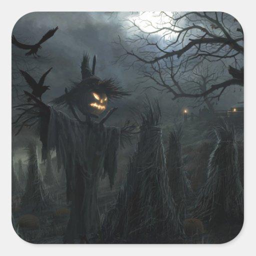 Halloween Field of Death Sticker