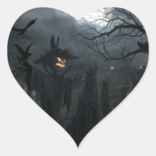 Halloween Field of Death Stickers