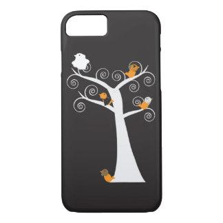 Halloween Five Birds iPhone 7 Case