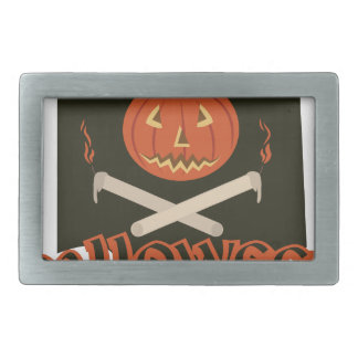 Halloween Flag Belt Buckle