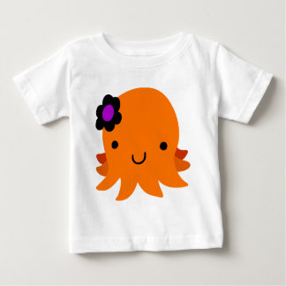 Halloween Flower Octopus Baby T-Shirt