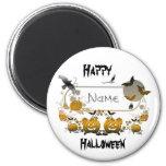 Halloween Frame 2 Inch Round Magnet