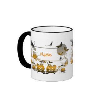 Halloween Frame Ringer Mug