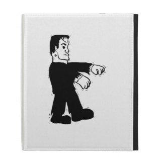Halloween Frankenstein iPad Folio Cover
