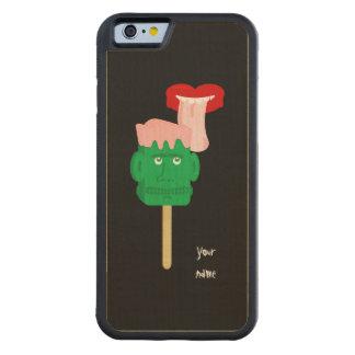 Halloween Frankenstein Ice Block Carved® Maple iPhone 6 Bumper