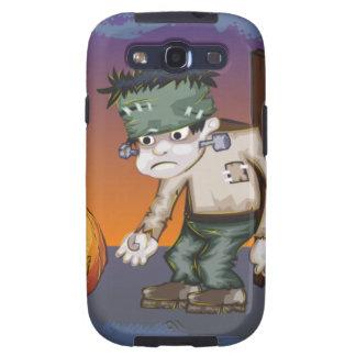 Halloween Frankenstein monster Samsung Galaxy SIII Case