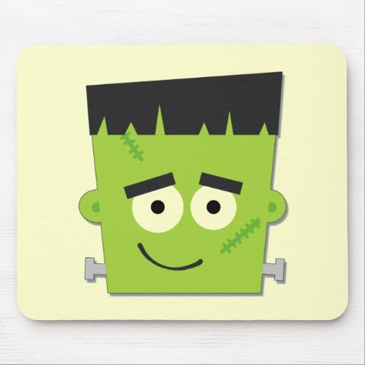 Halloween Frankenstein T-shirts and Gifts Mouse Pad