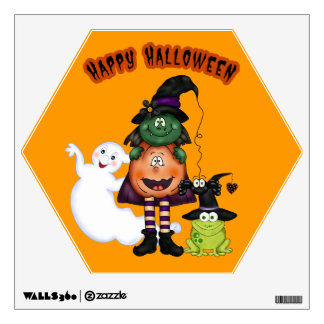 Halloween Friends wall decal