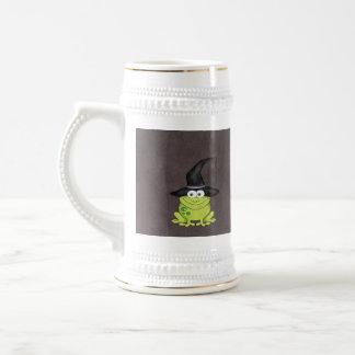 Halloween Frog Beer Stein