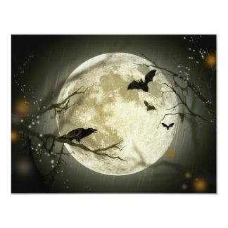 Halloween Full Moon Invitation