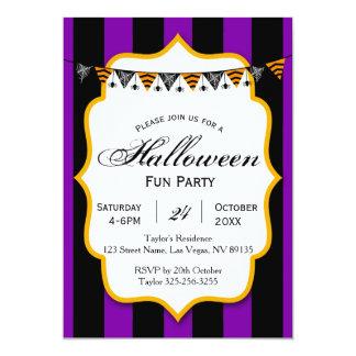 Halloween Fun Party Invitation