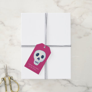 Halloween Fun Skull Pack Of Gift Tags