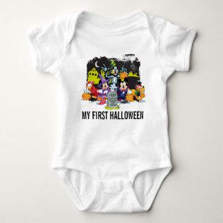 Halloween Fun with Friends Baby Bodysuit